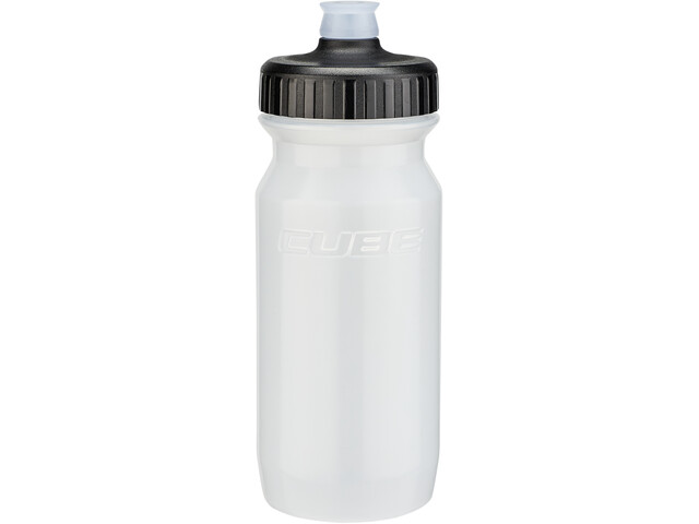 Cube Feather Bidon 500ml, transparent